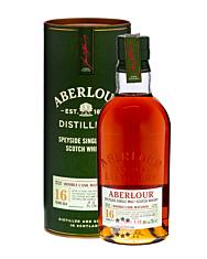 Aberlour 16 Jahre Double Cask Matured Whisky / 40 % Vol. / 0,7 Liter-Flasche in Geschenkbox