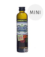 Absente 55 Absinth Liqueur Mini / 55 % Vol. / 0,1 Liter-Flasche
