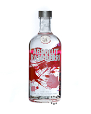 Absolut Raspberri – Raspberry Flavored Vodka / 40 % Vol. / 0,7 Liter-Flasche