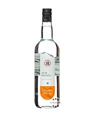Alm Mand'l Marillen Schnaps / 35 % Vol. / 1,0 Liter-Flasche