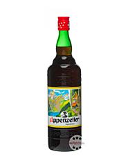 Appenzeller Schnaps Alpenbitter Kräuterlikör / 29 % Vol. / 1,0 Liter-Flasche