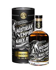 Austrian Empire Navy Rum Anniversary / 40 % Vol. / 0,7 Liter-Flasche in Geschenkdose