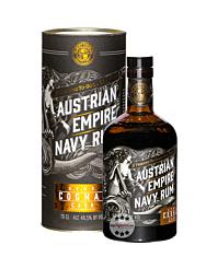 Austrian Empire Navy Rum A.E.N.R. Cognac Cask / 46,5 % Vol. / 0,7 Liter-Flasche in Geschenkdose