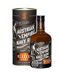 Austrian Empire Navy Rum A.E.N.R. Oloroso Cask / 49,5 % Vol. / 0,7 Liter-Flasche in Geschenkdose