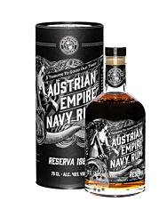 Austrian Empire Navy Rum Reserva 1863 / 40 % Vol. / 0,7 Liter-Flasche in Geschenkdose
