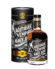 Austrian Empire Navy Rum Solera 18 Blended / 40 % Vol. / 0,7 Liter-Flasche in Geschenkdose