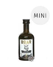 Boar Gin Blackforest Premium Dry Gin Miniatur / 43 % Vol. / 0,05 Liter-Flasche