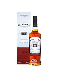Bowmore 15 Jahre Islay Single Malt Scotch Whisky / 43 % Vol. / 0,7 Liter-Flasche in Geschenkkarton