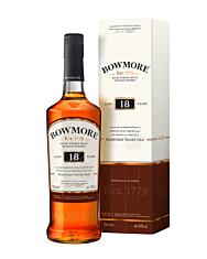 Bowmore 18 Jahre Islay Single Malt Scotch Whisky / 43 % Vol. / 0,7 Liter-Flasche in Geschenkkarton