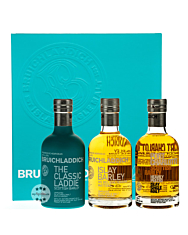 Bruichladdich Wee Laddie Whisky Tasting Collection / 50 % Vol. / 3 x 0,2 Liter-Flasche
