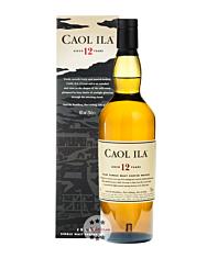 Caol Ila 12 Jahre Islay Single Malt Whisky / 43 % vol. / 0,7 Liter-Flasche im Karton