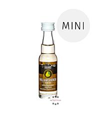 Dolomiti Antiquus Williams-Birnen-Schnaps Miniatur / 36 % Vol. / 0,02 Liter-Flasche