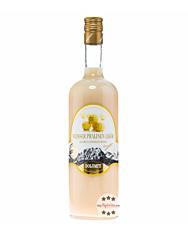 Dolomiti: Weisser Pralinen Likör / 15% Vol. / 1,0 Liter - Flasche