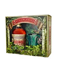 Don Papa Rum Onpack mit Glas / 40 % Vol. / 0,7 Liter in Geschenkpackung