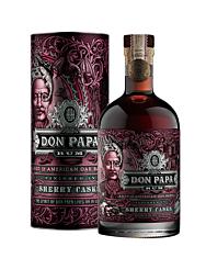Don Papa Sherry Cask Rum / 45 % Vol. / 0,7 Liter-Flasche in Geschenkdose