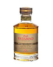 Fassbind: Poire Williams L'Héritage de Bois / 53,8 % vol. / 0,5 Liter-Flasche