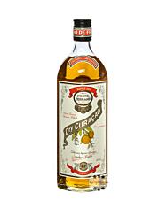 Cognac Pierre Ferrand: Dry Curacao Triple Sec Liqueur / 40 % Vol. / 0,7 Liter-Flasche