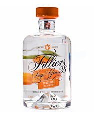 Filliers Dry Gin 28 Tangerine – Gin mit Mandarine / 43,7 % vol. / 0,5 Liter-Flasche