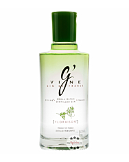 G'Vine Floraison Gin – Frischer Gin mit Blütennote aus der Weinblüte / 40 % vol. 0,7 Liter-Flasche