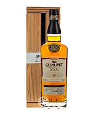 Glenlivet 25 Years of Age Whisky - XXV Single Malt Scotch / 43 % Vol. / 0,7 Liter-Flasche in Schatulle