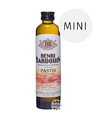 Henri Bardouin: Pastis Mini / 45 % Vol. / 0,1 Liter-Flasche