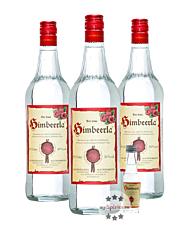 Prinz: Himbeerla Kombi / 34 % Vol. / 3 x 1,0 Liter-Flasche + 1 x 0,02 Liter-Miniatur