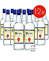 Prinz: Hoadla - fruchtig milder Heidelbeer-Schnaps / 34 % Vol. / 12 x 1,0 Liter - Flasche