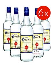 Prinz: Hoadla - fruchtig milder Heidelbeer-Schnaps / 34 % Vol. / 6 x 1,0 Liter - Flasche