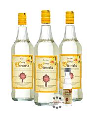 Prinz: Honig Birnerla / 34 % Vol. / 3 x 1,0 Liter-Flasche + 0,02 Liter Miniatur