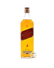 Johnnie Walker Red Label Blended Scotch Whisky / 40 % vol. / 1,0 Liter-Flasche