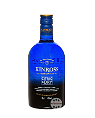 Kinross Premium Gin Citric & Dry / 40 % Vol / 0,7 Liter-Flasche