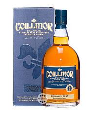 Liebl: Coillmor Albanach Peat Bourbon Cask Single Malt Whisky / 46 % Vol. / 0,7 Liter-Flasche in Geschenkkarton