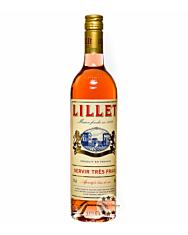 Lillet Rosé Weinaperitif / 17 % Vol. / 0,75 Liter-Flasche