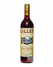 Lillet Rouge Weinaperitif / 17 % Vol. / 0,75 Liter-Flasche