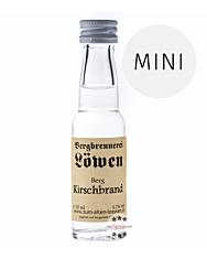 Löwen: Berg Kirschen Brand / 42% Vol. / 0,02 Liter - Flasche