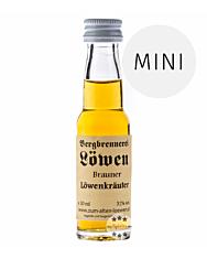 Löwen: Brauner Löwen Kräuter / 32% Vol. / 0,02 Liter - Flasche