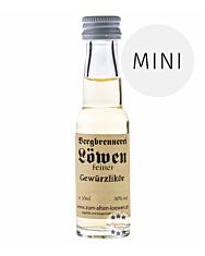 Löwen: Feiner Gewürzlikör / 30% Vol. / 0,02 Liter - Flasche