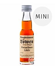 Löwen: Preiselbeerlikör / 25% Vol. / 0,02 Liter - Flasche