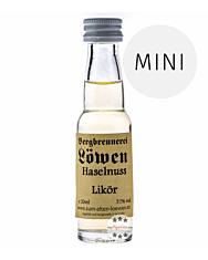 Löwen: Haselnusslikör / 25% Vol. / 0,02 Liter - Flasche