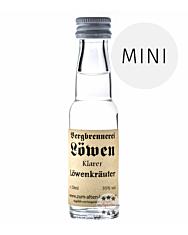 Löwen: Klarer Löwen Kräuter / 35% Vol. / 0,02 Liter - Flasche