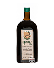 Bergbrennerei Löwen: Rehmer Bitter Kräuterlikör / 35 % Vol. / 0,7 Liter-Flasche