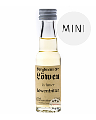 Löwen: Rehmer Löwen-Bitter / 32% Vol. / 0,02 Liter - Flasche