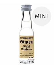 Löwen: Wald Himbeer Brand / 42% Vol. / 0,02 Liter - Flasche