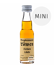 Löwen: Zirben-Likör / 25% Vol. / 0,02 Liter - Flasche