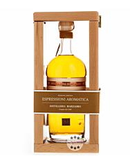 Marzadro Grappa Espressioni Aromatica / 43 % Vol. / 0,7 Liter-Flasche in Holzkistchen