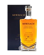 Mortlach 18 Years Old Speyside Single Malt Scotch Whisky – 2.81 distilled / 43,4 % vol. / 0,5 Liter-Schmuck-Flasche in Geschenk-Kassette