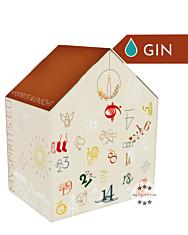 mySpirits Gin Adventskalender Special / 25-47,5 % Vol. / 24 x 0,02 Liter-Miniaturen + mySpirits kleines Nosingglas