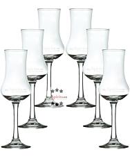 mySpirits Schnapskelch - 6 x Degustationsglas für Spirituosen mit 0,02 Liter Eichstrich