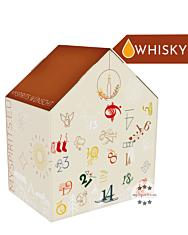mySpirits Whisky Adventskalender Rare Experience / 40-57,1 % Vol. / 24 x 0,02 Liter-Miniatur + mySpirits kleines Nosingglas