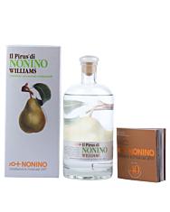 Grappa Nonino: Pirus di Nonino Williams Birnen-Brand / 43 % vol. / 0,7 Liter-Flasche im Geschenk-Karton